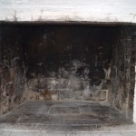 this firebox is old and damaged
