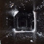 the inside of this chimney has been deglazed, creosote removed with safe effective chemicals