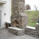 brand new outdoor hearth addition