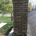 Brand new rebuilt chimney