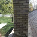 Brand new rebuilt chimney