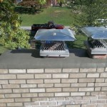 repaired chimney is complete and good as new