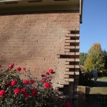 anything missing bricks can be repaired